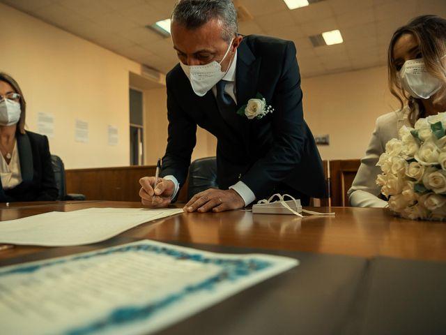 Oxsana and Andrea's Wedding in Naples, Italy 38