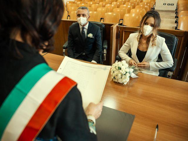 Oxsana and Andrea's Wedding in Naples, Italy 44