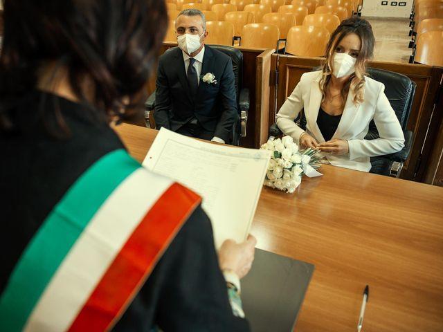 Oxsana and Andrea's Wedding in Naples, Italy 45