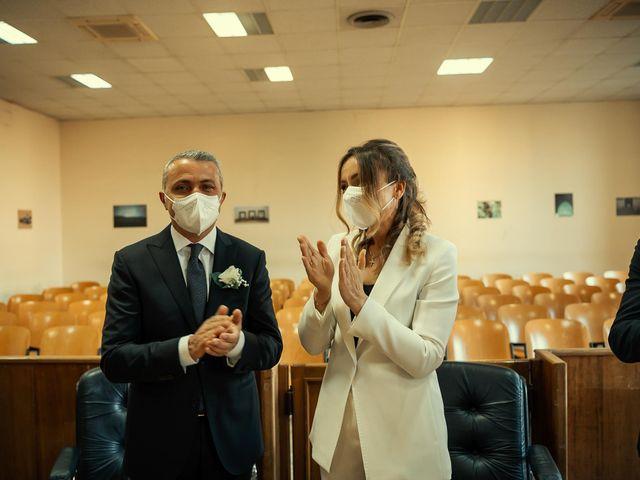 Oxsana and Andrea's Wedding in Naples, Italy 56