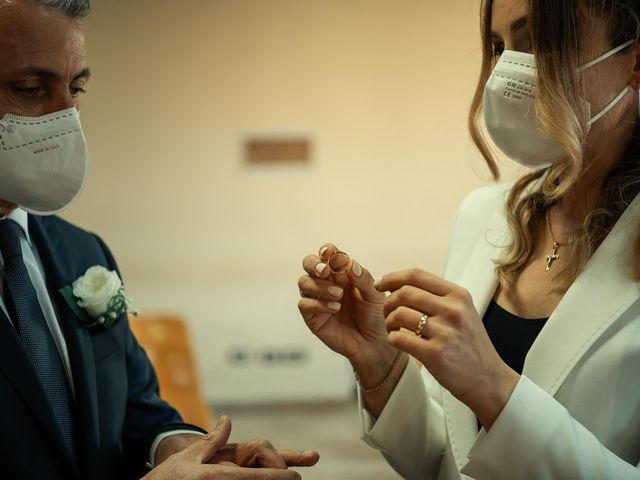 Oxsana and Andrea's Wedding in Naples, Italy 66