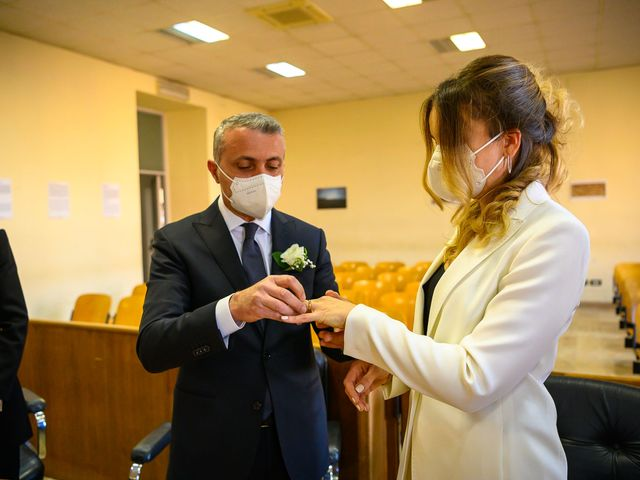 Oxsana and Andrea's Wedding in Naples, Italy 68