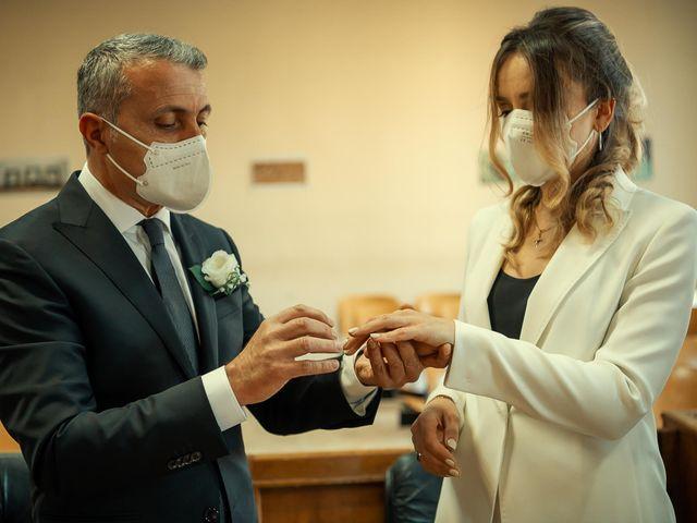 Oxsana and Andrea's Wedding in Naples, Italy 76