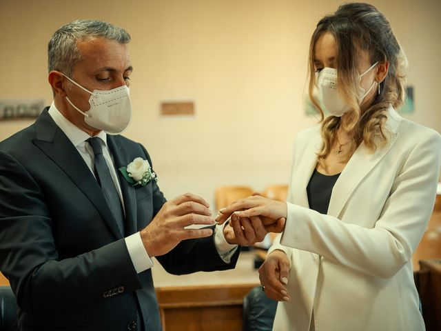 Oxsana and Andrea's Wedding in Naples, Italy 77