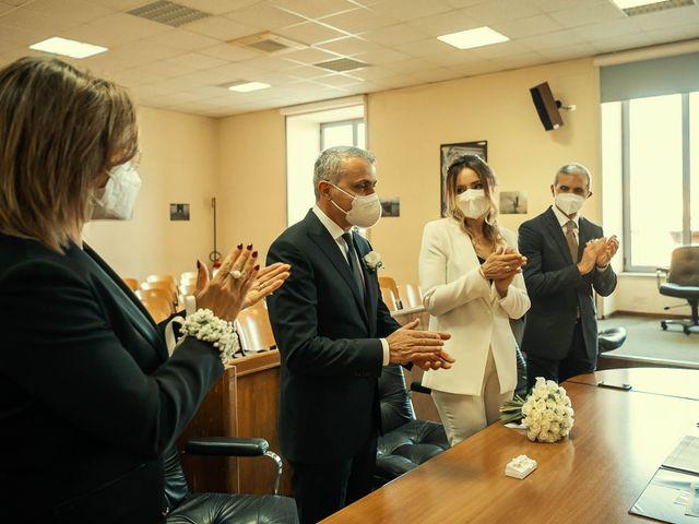 Oxsana and Andrea's Wedding in Naples, Italy 81