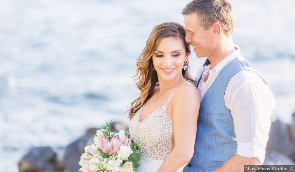 Keith and Marie's Wedding in Kihei, Hawaii