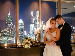 The wedding of Brittany and James