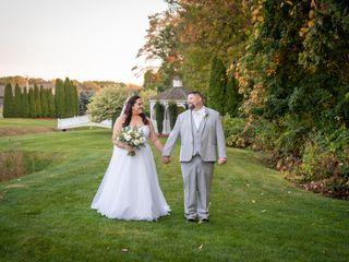 The wedding of Jennifer and David