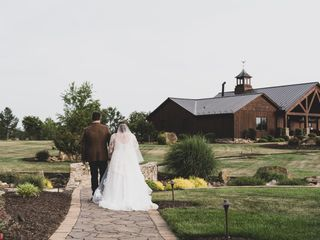 The wedding of Hali and James