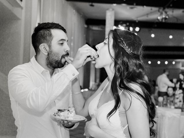 The wedding of Theresa and Mauricio