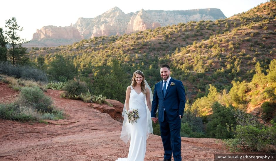 Jeff and Emily's Wedding in Sedona, Arizona