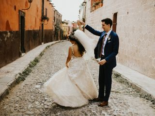 The wedding of Estefania and Christian