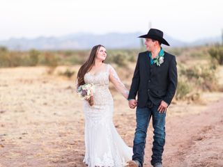 The wedding of Riley and Cody