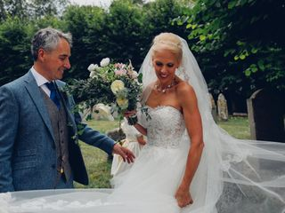 The wedding of Monique and Bill