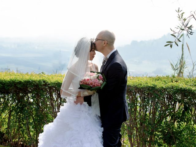 The wedding of Andrea and Mifuka