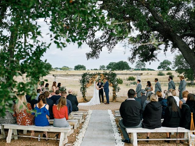 Tyler and Sarah's Wedding in Dripping Springs, Texas 5