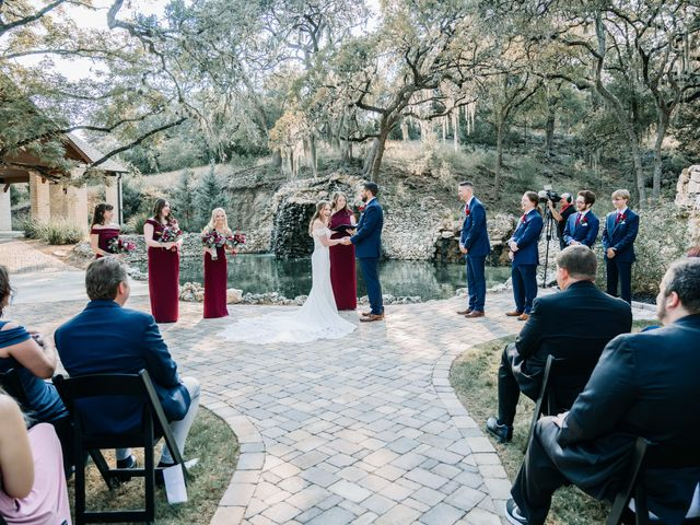 Allen and Shelby's Wedding in Spring Branch, Texas 15