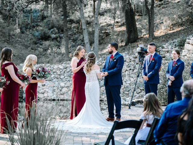 Allen and Shelby's Wedding in Spring Branch, Texas 16