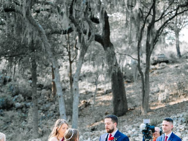 Allen and Shelby's Wedding in Spring Branch, Texas 18