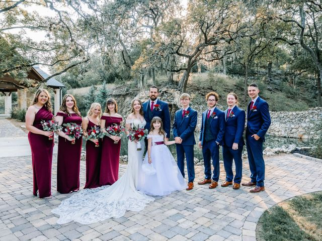 Allen and Shelby's Wedding in Spring Branch, Texas 26