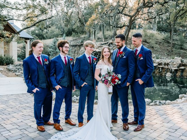 Allen and Shelby's Wedding in Spring Branch, Texas 29