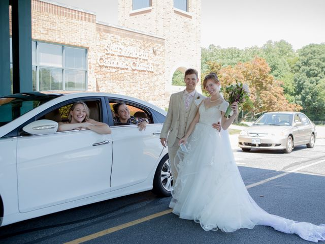 Brendan and Sarah's Wedding in Rockville, Maryland 11