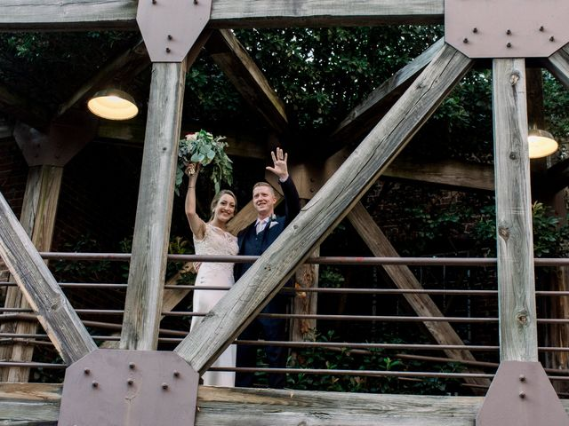 David and Christine's Wedding in Winston Salem, North Carolina 7