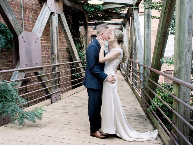 The wedding of Christine and David