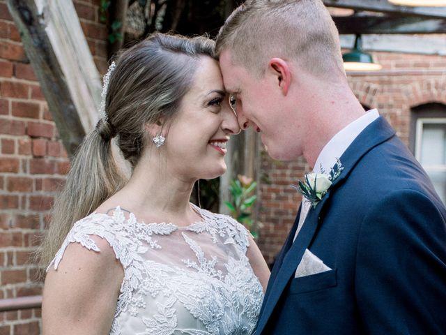 David and Christine's Wedding in Winston Salem, North Carolina 10