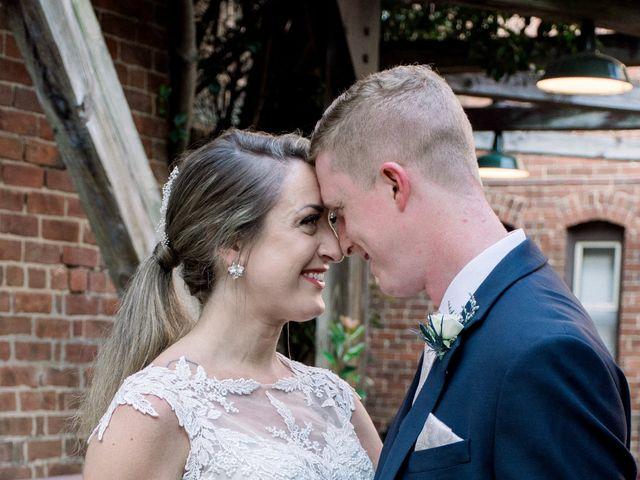 David and Christine's Wedding in Winston Salem, North Carolina 11