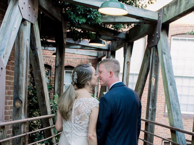 David and Christine's Wedding in Winston Salem, North Carolina 12