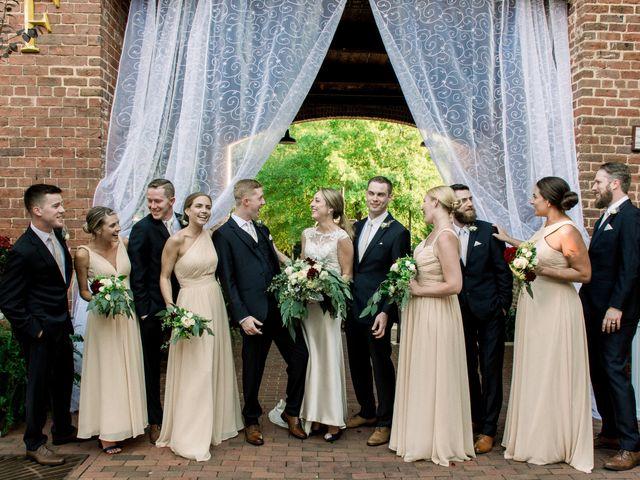 David and Christine's Wedding in Winston Salem, North Carolina 15