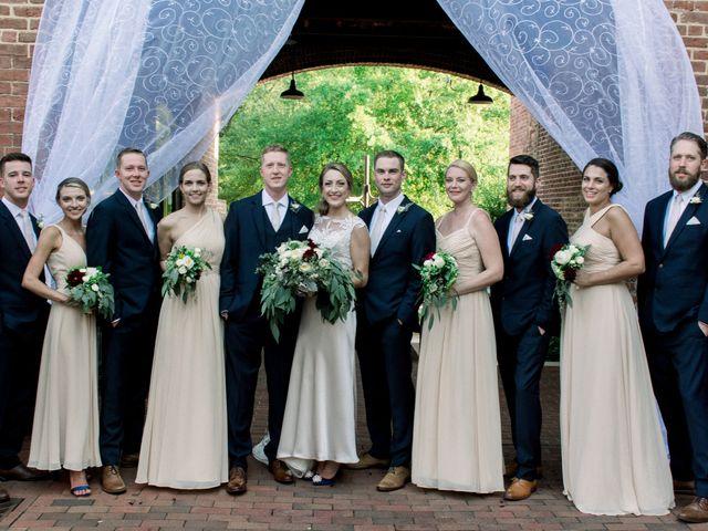 David and Christine's Wedding in Winston Salem, North Carolina 16