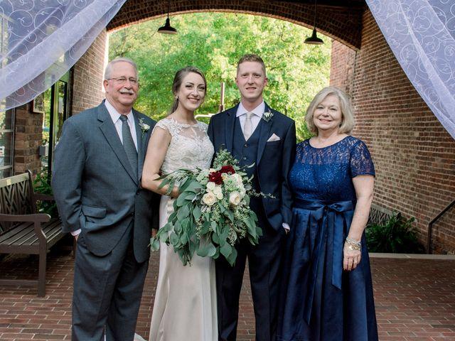 David and Christine's Wedding in Winston Salem, North Carolina 20