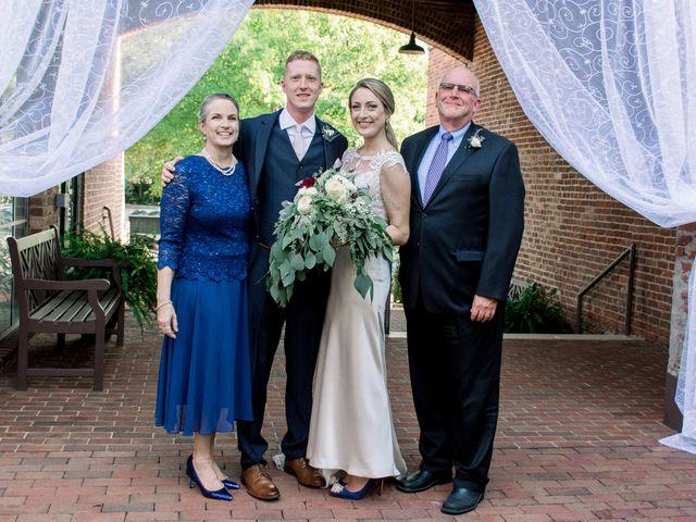 David and Christine's Wedding in Winston Salem, North Carolina 22
