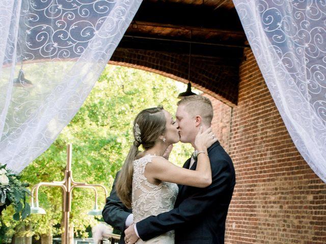 David and Christine's Wedding in Winston Salem, North Carolina 25
