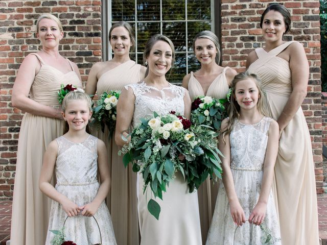 David and Christine's Wedding in Winston Salem, North Carolina 27
