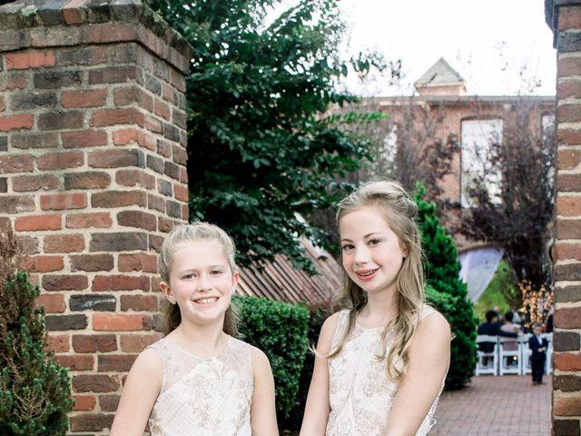 David and Christine's Wedding in Winston Salem, North Carolina 28