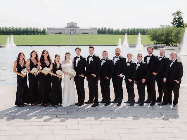 Andrea and Andy's Wedding in Saint Louis, Missouri 16