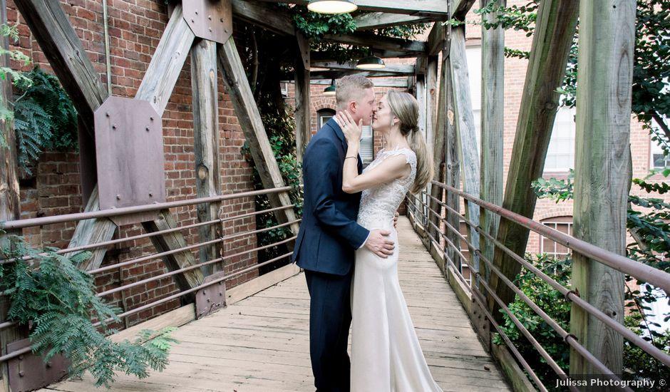 David and Christine's Wedding in Winston Salem, North Carolina
