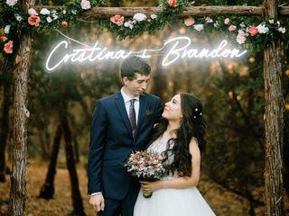The wedding of Brandon and Cristina