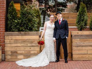 The wedding of Jocelyn and John