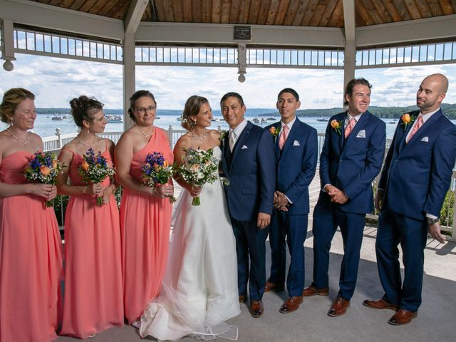 Serge and Laurissa's Wedding in Canandaigua, New York 9