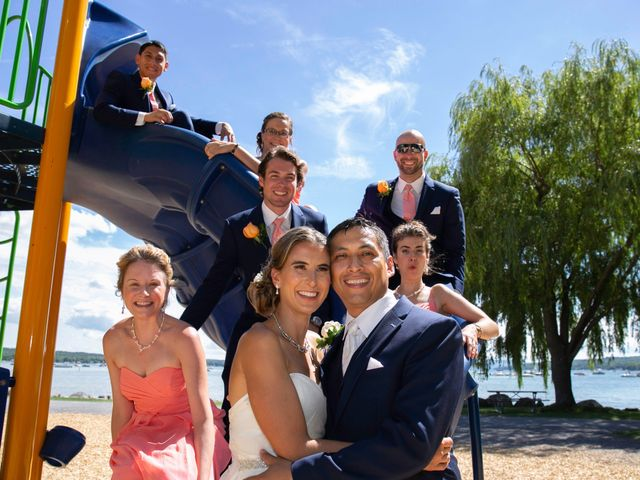 Serge and Laurissa's Wedding in Canandaigua, New York 13
