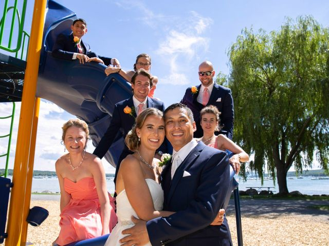 Serge and Laurissa's Wedding in Canandaigua, New York 14