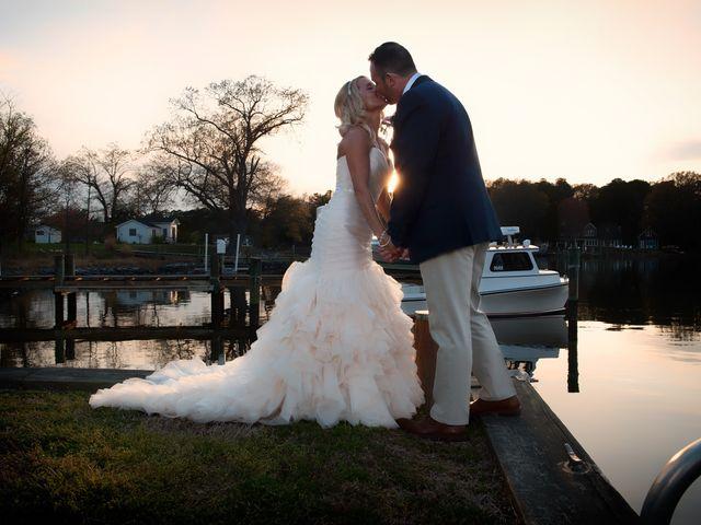 The wedding of Kim and Ryan
