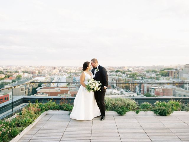 The wedding of Cristina and Casey