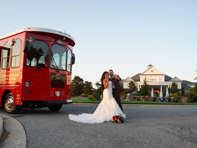 Ray and Tiffany's Wedding in Millsboro, Delaware 57