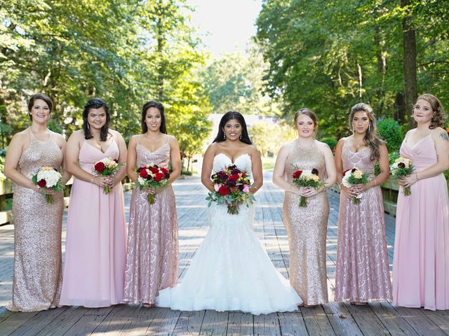Ray and Tiffany's Wedding in Millsboro, Delaware 6