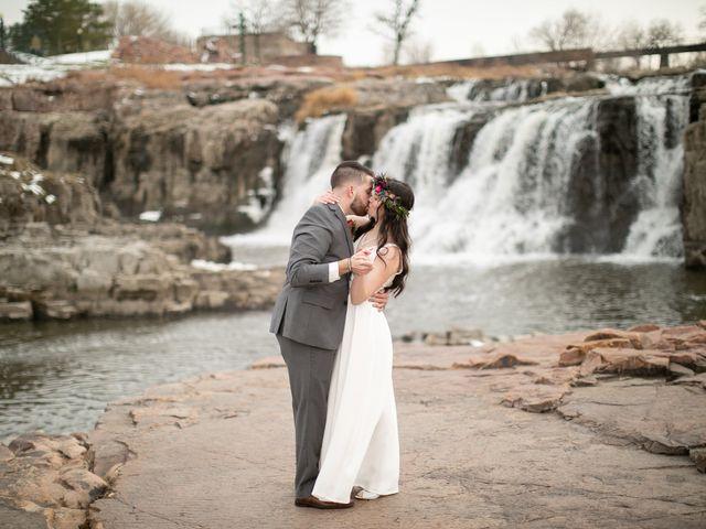 The wedding of Noah and Leannah